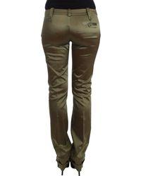 John Galliano Slim Fit Pants - Vert