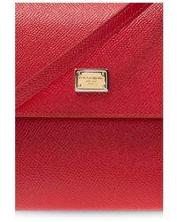 Dolce & Gabbana 'sicily Schoudertas - Rood