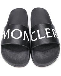 Moncler Slides Negro