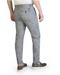 Yes-Zee Trousers P682_Un00 Gris