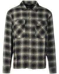 Represent Flannel Shirt - Zwart