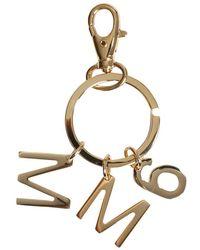 MM6 by Maison Martin Margiela KEY Ring With Logo - Orange