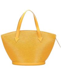 Louis Vuitton Epi Saint Jacques PM cinturino corto in pelle - Giallo