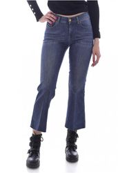 DIESEL Jeans 7/8ème - Blauw