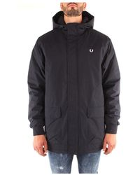Fred Perry Jacket - Blauw
