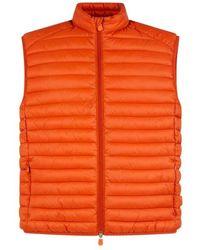 Save The Duck Giga-vest - Oranje