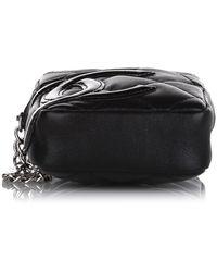 Chanel Vintage Pochette en cuir Cambon Ligne - Noir