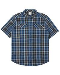 Luigi Bianchi Mantova Pine Knot Shirt - Blauw