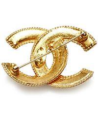 Chanel Vintage Broche Amarillo