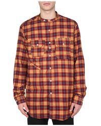 Engineered Garments Shirt With Tartan Pattern - Oranje