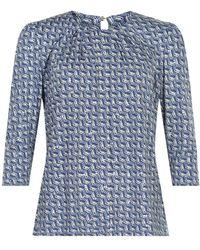 iN FRONT Marcia Bluse - Blauw