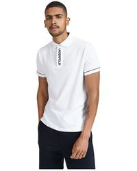 Karl Lagerfeld Polo Shirt - Wit