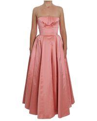 Dolce & Gabbana Silk Ball Gown - Roze
