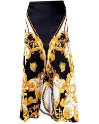 Versace Long Skirt - Noir
