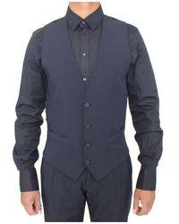 Dolce & Gabbana - Wool Formal Vest - Lyst