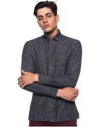 Kiton Shirt With Long Sleeves - Grijs