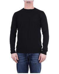 Jeordie's Crewneck Knitwear - Zwart