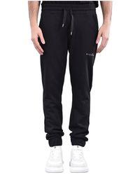 John Richmond Pantaloni jogging shelda in felpa - Noir