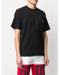Gcds - T-Shirt Negro - Lyst