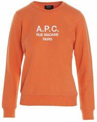 A.P.C. Sweatshirt - Oranje