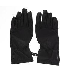 Stone Island Gloves - Zwart