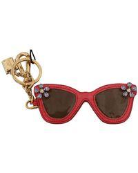 Dolce & Gabbana Keyring Keychain - Zwart