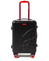 Sprayground Sharkitecture Black Mid Luggage - Zwart