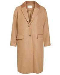 Vila Vicallee Wool Coat - Neutro