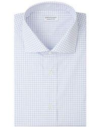 Santa Eulalia Checked Shirt - Blauw