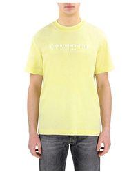 Alexander Wang Ucc1211030 T-shirt maniche corte - Gelb
