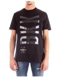 Bikkembergs C40763dm3969 T-shirt Men Black - Zwart