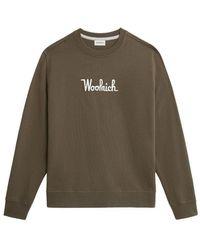 Woolrich Sweatshirt - Groen