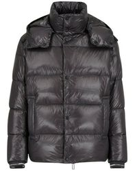 Emporio Armani Down Filled Comforter Jacket - Grijs