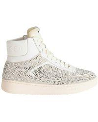 Pinko Harlow 3 Basket High Sneakers - Wit