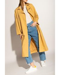 Samsøe & Samsøe Oversize trench coat Amarillo