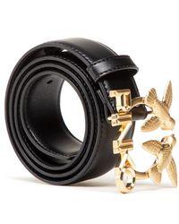 Pinko Simplemente cinturón Negro