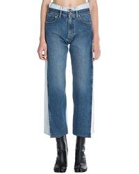 Maison Margiela Deconstructed Jeans - Blauw