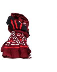 Calvin Klein K60k604909 bandana scarf scarf - Marrone