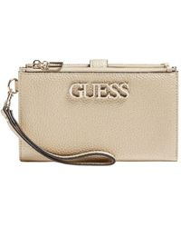 Guess Uptown Chic Portefeuille - Geel