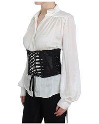Dolce & Gabbana Cinturón de corsé de cintura Negro