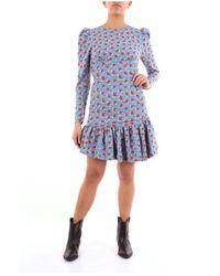 Essentiel Antwerp Short Dress - Bleu