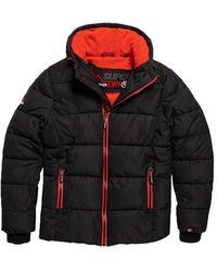 Superdry Jacket - Zwart
