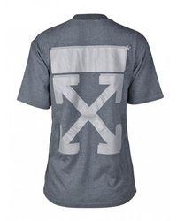 Off-White c/o Virgil Abloh Pfeil T-Shirt - Grau