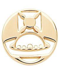 Vivienne Westwood Brutus Single Stud Earring - Geel