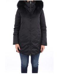 Add 2Aw665 Long jacket - Schwarz
