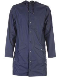 Rains Coat - Blauw