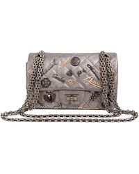 Chanel Flap Bag - Grijs