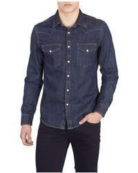 Lee Jeans Shirt - Blauw