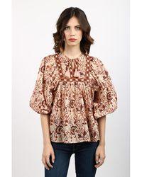 Attic And Barn Shirt Beige - Neutro
