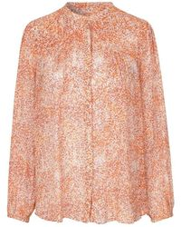 Second Female Floral shirt 53208-3072 - Orange